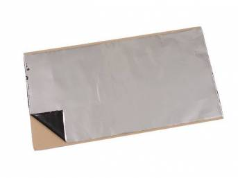 INSULATION, Silver backing by HushMat, self-adhesive Thermal and