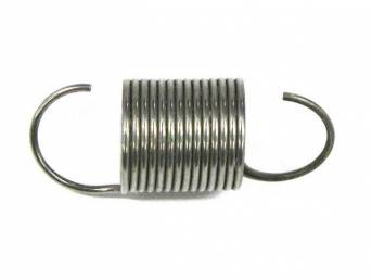SPRING, ACCELERATOR RETRACTING, STAINLESS STEEL