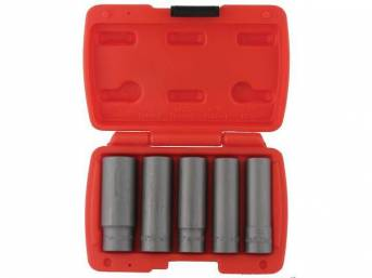 SOCKET SET, Bolt Extractor, deep well set, 3/8