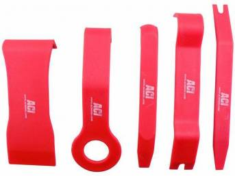 REMOVAL TOOLS, Trim, Set of 5 super strong