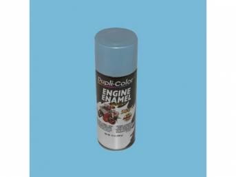 PAINT, ENGINE, GM STRATO BLUE METALLIC, 12 FLUID OUNCE SPRAY CAN