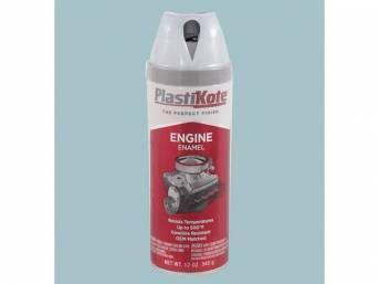 Engine Paint, 1966-70 Pontiac Blue / Metallic Blue, Plastikote brand, 12 fluid ounce spray can