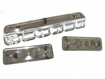 COVER, Valve, Chrome Plated Steel, incl side plate (p/n C-0386-07A), repro