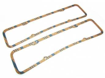 Gasket Set, Valve Cover, Fel Pro, Cork material, 5/32 Inch thick
