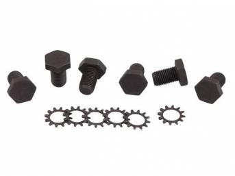 Fastener Kit Flexplate To Crankshaft 12 Incl Grade