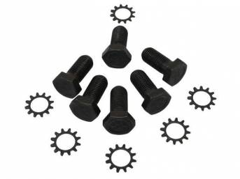 Fastener Kit Flywheel To Crankshaft 12 Incl 11/16