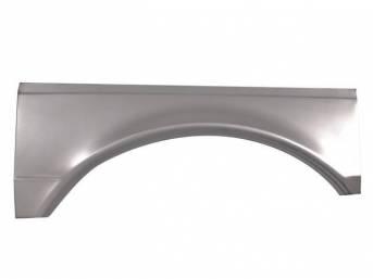 REPAIR PANEL, Rear Wheel Flair, LH, 29 Inches Long x 11 Inches High, Repro