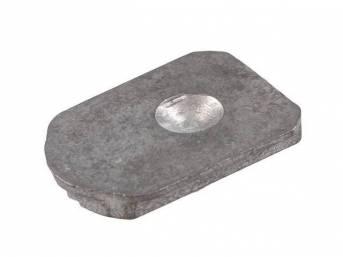 BRACKET, Inside Rear View Mirror, Small Plate Bracket