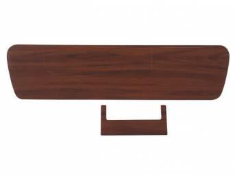 INSERT, Instrument Panel Cluster, vinyl veneer walnut grain