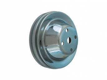 PULLEY, Water Pump, double groove, 6 1/4 inch