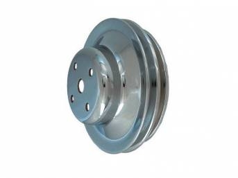 PULLEY, Water Pump, double groove, staggered diameter, 5