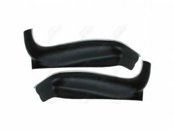 PANEL / SHIELD SET, Seat Frame, Lower, Black,