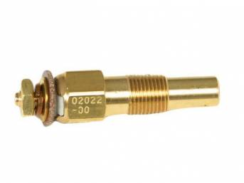 SENDER, Coolant Temperature, Classic Instruments, 1/8 inch NPT, self-sealing tapered threads, for use w/ Classic Instruments gauges only
