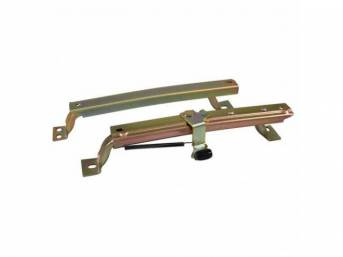 Front Seat Slide Adjuster, LH, manual style, repro