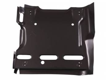 SUPPORT, Seat Frame, RH, features 2 sets of track mounting holes, EDP coated repro