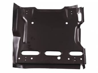 SUPPORT, Seat Frame, LH, features 2 sets of track mounting holes, EDP coated repro