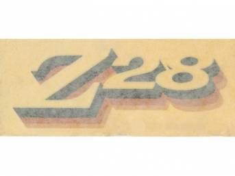 DECAL, Spoiler, *Z/28*, Yellow, Repro