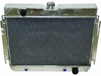 Radiator Aluminum Champion 4 Row 24 1/2 Inch