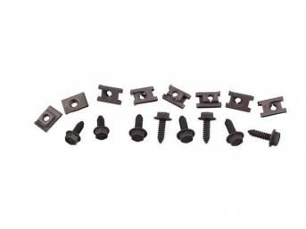 FASTENER KIT, Radiator and Fan Shroud, (16) incl