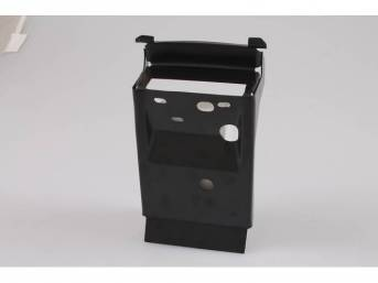 BRACE, Center Tail Pan, Braces tail panel and provides mounting area for trunk latch assy, Repro
