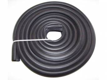 WEATHERSTRIP, Deck Lid / Trunk Lid Opening, *Soff Seal*, Repro, softer and compresses tighter than p/n C-12269-103B