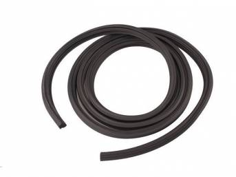 WEATHERSTRIP, Deck Lid / Trunk Lid Opening, *Precision*, 12 Feet Over all length, softer and compresses tighter than p/n C-12269-1A