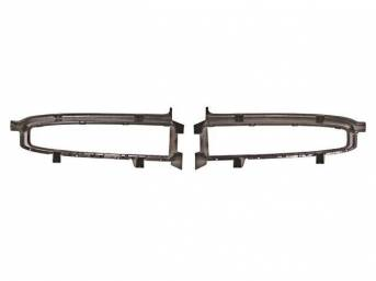 BEZEL / SURROUND SET, Radiator Grille, done from