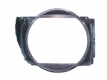 SHROUD, Radiator Fan, 29 3/4 inch length x 23 1/2 inch height x 4 1/4 inch depth, 2 Piece Repro