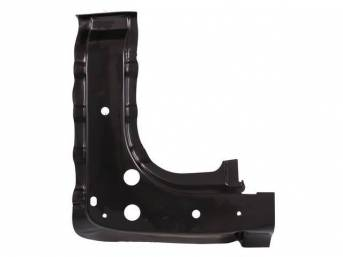 INNER BRACE, CONVERTIBLE FLOOR PAN, RH, INSTALLS ON FLOOR PAN JUST FORWARD OF REAR SEAT FOOTWELL, PROVIDES ADDITIONAL BRACING AND STRENGTHENING, REPRO