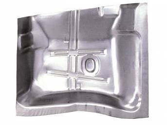 FLOOR PAN, Rear Section, RH, 29 inch length x 29 3/8 inch width, US / Canadian made Repro