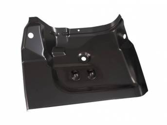 FLOOR PAN, REAR, RH, Under Seat, 20 Gauge Heavy Steel, Looks OE, 40 Inch Length x 7 Inch Height x 18 Inch width, Repro