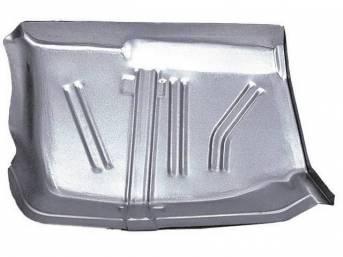 FLOOR PAN, Toe Board, RH, 17 inch length x 24 inch width, 20 gauge, US / Canadian made Repro
