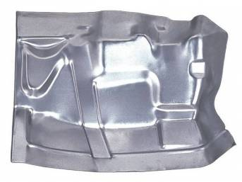 FLOOR PAN, Toe Board, LH, 17 inch length x 24 inch width, 20 gauge, US / Canadian made Repro