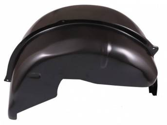 PANEL ASSY, Quarter Wheelhouse, Inner and Outer, RH, Deep Tub Style (incl a 6 inch width inner section, providing an extra 2 1/4 inch width for wider tires and wheel combination), EDP-coated repro