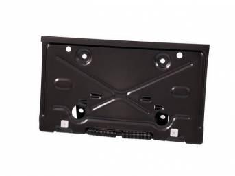 DOOR, Fuel Tank Filler / License Plate, Repro