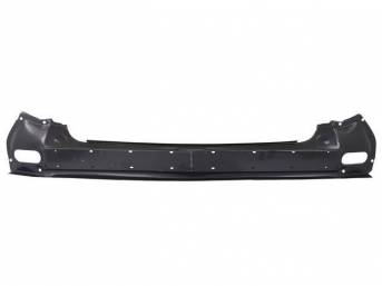 REAR PANEL, Tail Light / Rear End, Incl Center Section and Tail Light Areas, 72 1/2 Inches Over All Length, 21 Gauge Steel, Repro