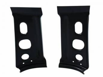 BRACE SET, Tail Light Panel, Inner, LH and RH, Repro