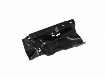 TORQUE BOX, Under Rear Seat, RH, Replaces the original floor brace section, Welded to the underside of the rear seat panel and acts as the mounting point for the springs and rear outer seat belts, Repro