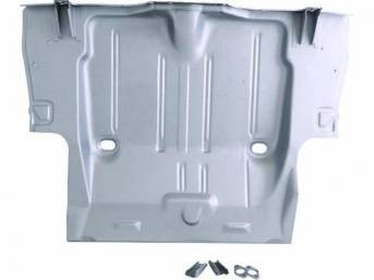 FLOOR PAN, Rear Compartment / Trunk, Complete, designed