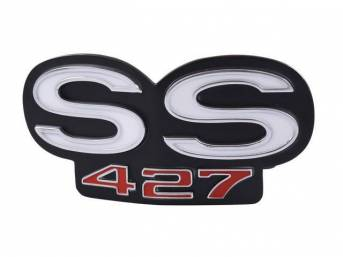 Emblem Grille Ss427 Incl Retaining Plate And Attaching