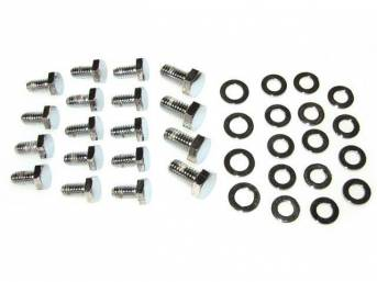BOLT AND WASHER KIT, Engine Oil Pan, (36)