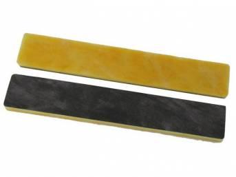 INSULATION, Under Dash, fiberglass material, (2), repro