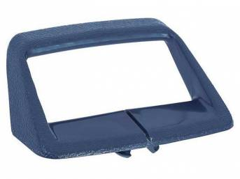 Seat Shoulder Strap Guide / Retainer, Blue, RH or LH, OER Repro