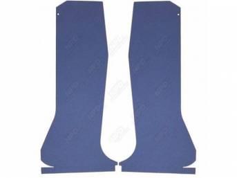 QUARTER TRIM SET, Medium Blue, Die-cut boards that