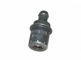 VALVE, Crankcase Vent (PCV), straight connection, AC Delco