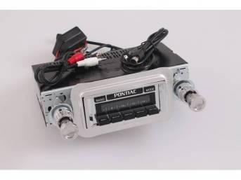 Radio, AM/FM, W/ Rear Auxiliary Input (for iPod,
