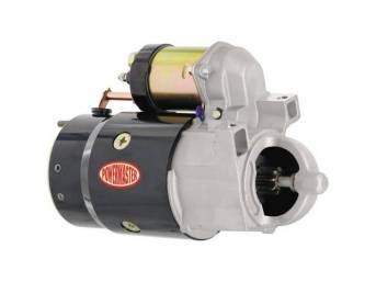 STARTER, NEW, by Powermaster, OEM-Style High-Torque, 95 ft lbs torque, 1.8 hp, Direct Drive, straight mount, 153 tooth flywheel, 18 lbs