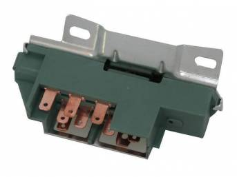 SWITCH BLOCK, Ignition, correct green color, repro
