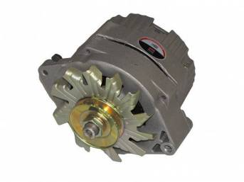 Rebuilt Alternator, 63 AMP, 5 1/2 inch diameter case