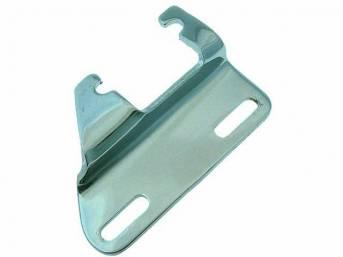 BRACKET, Alternator, Lower, Use On Header Installations, Chrome, Repro